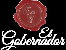 Logo El Gobernador blanco